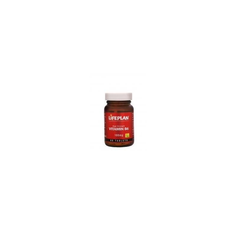 Vitamina B6 Pyridoxina 100mg x 60 comprimidos