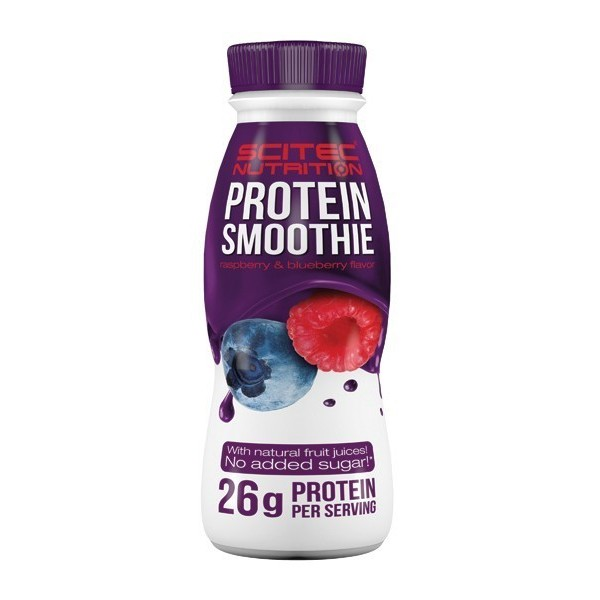 PROTEIN SMOOTHIE - 8 Frascos de 330ml - Com sumo de frutas natural!