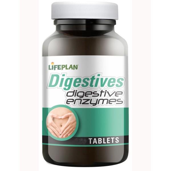 DIGESTIVE ENZYMES - ENZIMAS DIGESTIVAS - 60 Comprimidos