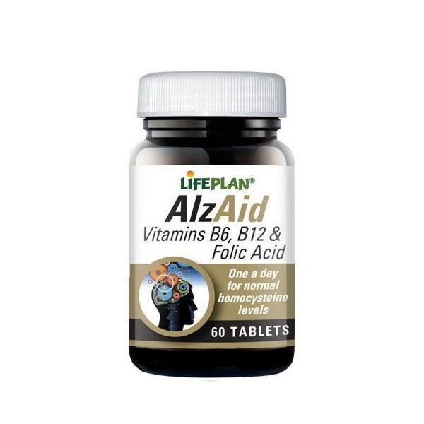 AlzAid - Alzheimer/Memória/Stress/Depressão - 60 Comprimidos