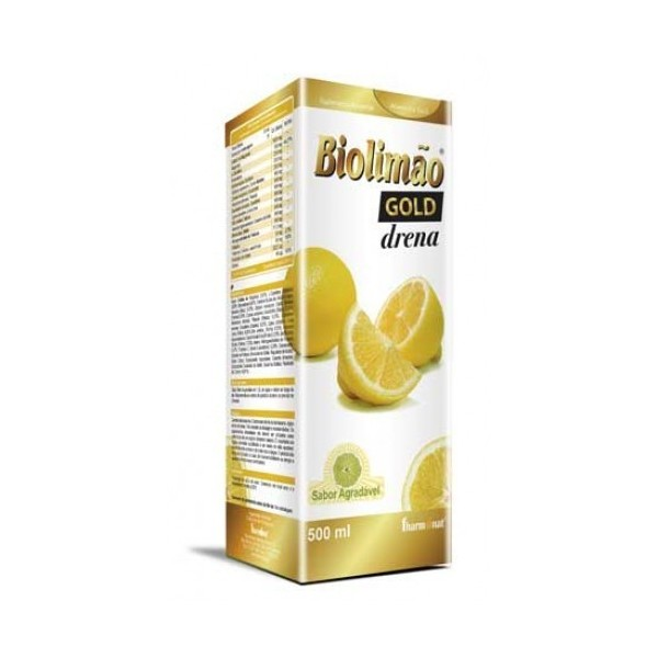 BIOLIMÃO GOLD DRAINE 500 ML