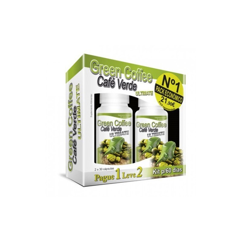 GREEN COFFEE (CAFE VERDE) ULTIMATE - PAGUE 1 LEVE 2