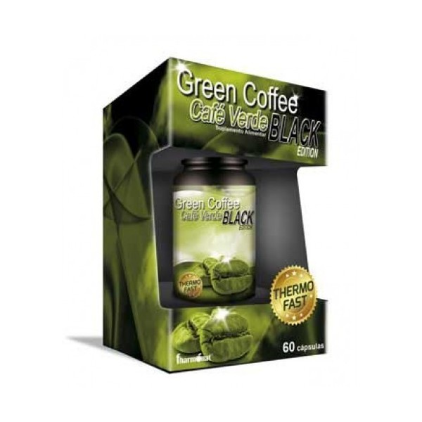 GREEN COFFEE BLACK EDITION 60 CÁPSULAS - FHARMONAT