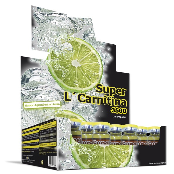 SUPER L-CARNITINA 4000 - 20 UNIDOSES (shots)