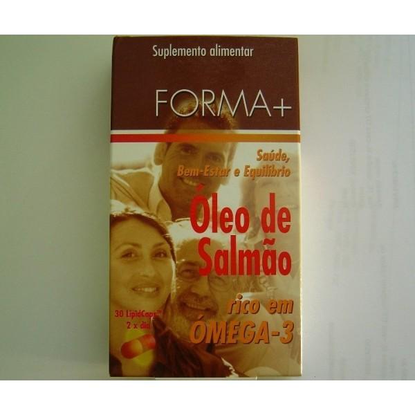 ÓLEO DE SALMÃO Forma + 30 Cápsulas a 500mg