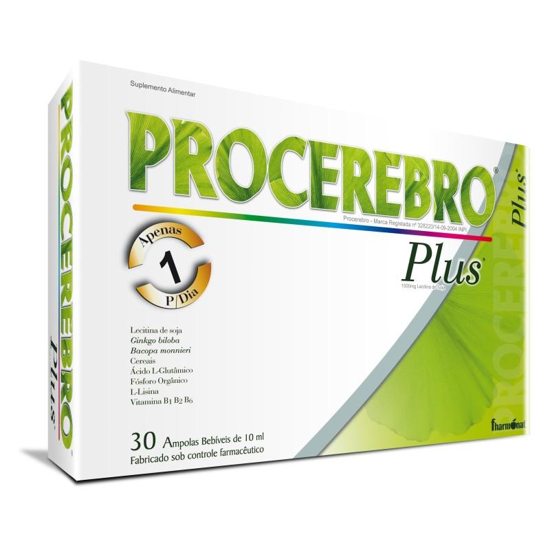 PROCEREBRO PLUS 30 AMPOLAS