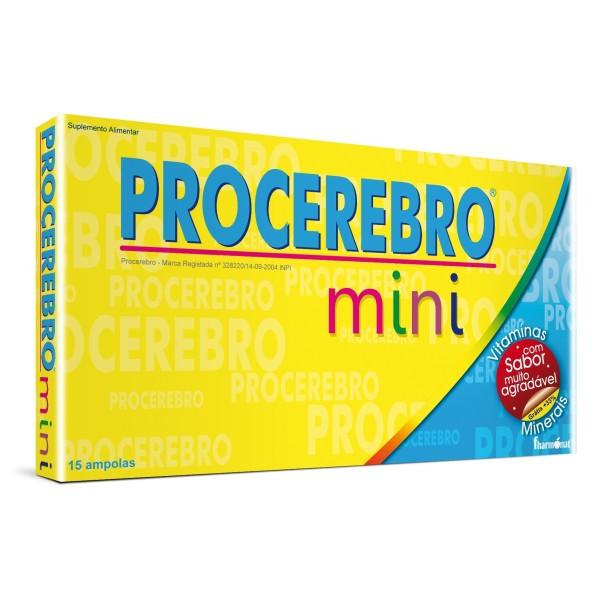 PROCEREBRO MINI 15 AMPOLAS - FHARMONAT