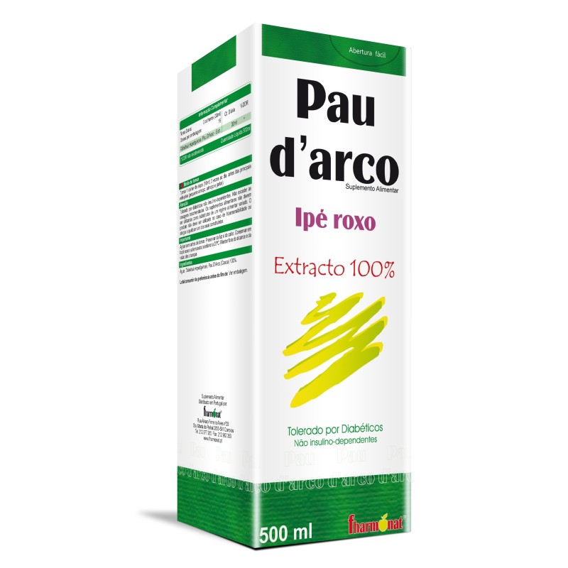 PAU D´ARCO EXTRATO 500 ML - FHARMONAT
