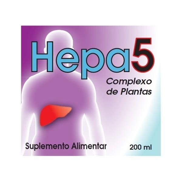 Hepa 5 - Fígado são - Frasco 200 ml