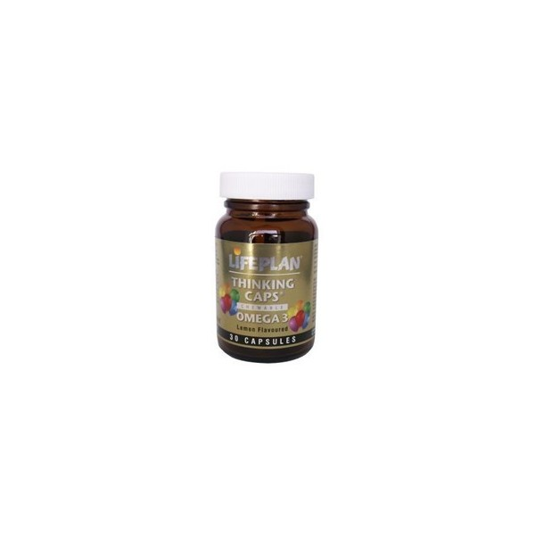 THINKING CAP´S OMEGA 3 + VITAMINAS A,D,E - 30 Cápsulas