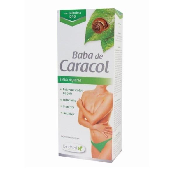Baba de Caracol - Loção Corpo - Helix aspersa - Frasco de 200 ml