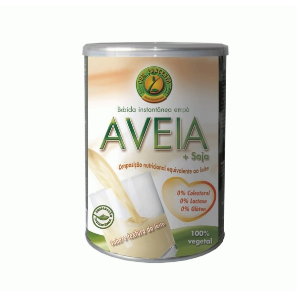 Bebida de Proteina isolada de Soja - Sabor Aveia