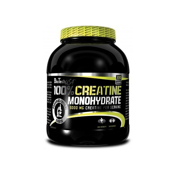 100% Creatine Monohydrate 500g (pote)