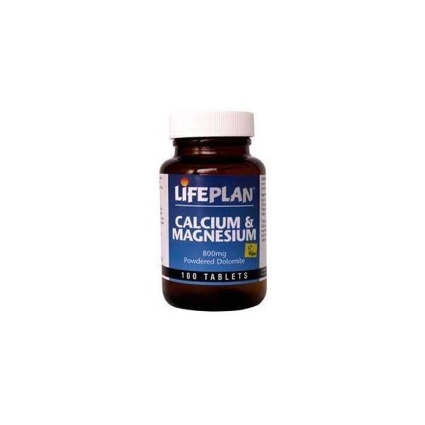 CÁLCIO+MAGNÉSIO - DOLOMITE - 100 Comprimidos de 500 mg