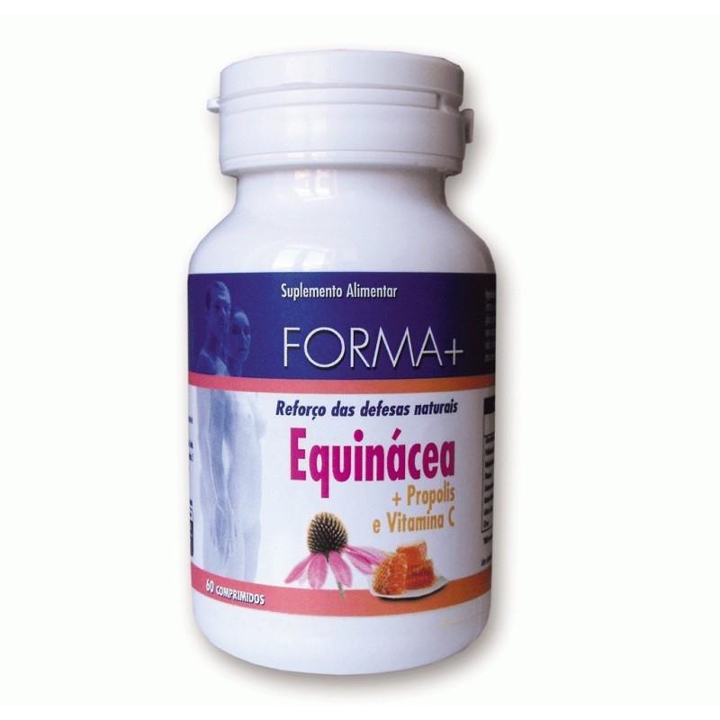 Equinácea + Propólis e Vitamina C - Reforço das defesas naturais - Forma + 60 comp.