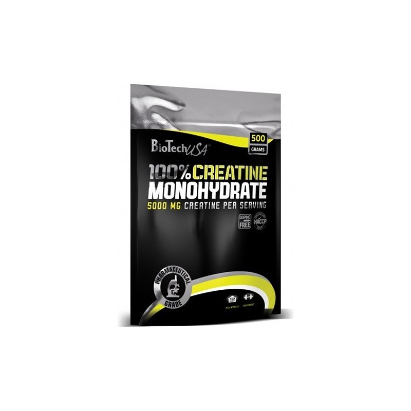 100% Creatine Monohydrate 500g (saco)