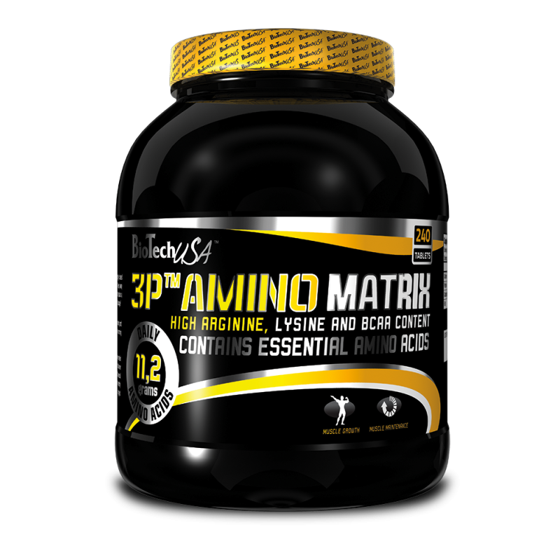 3P Amino Matrix 240 caps.