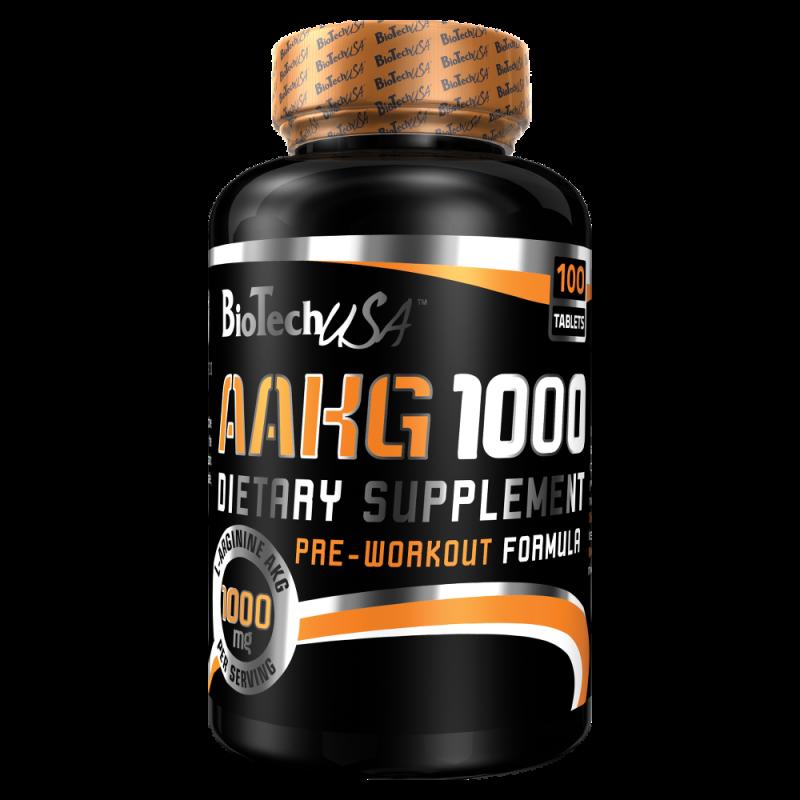 AAKG 1000 - 100 Tabs - Arginina-alfa-cetoglutarato da BiotechUsa