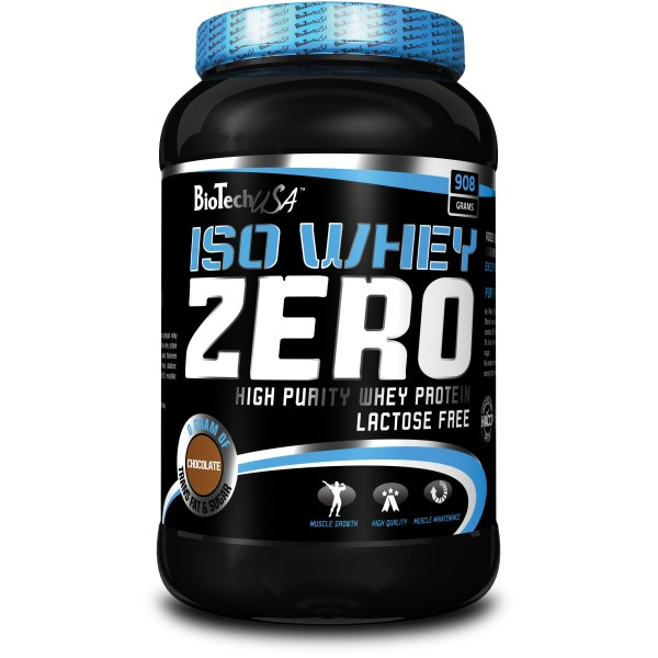 Iso Whey Zero 908Gr- Pote - Sem Lactose
