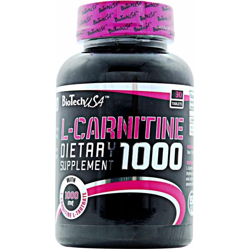 L-Carnitine 1000 - 30 Comprimidos