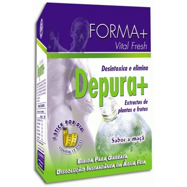 Depura+ Desintoxica e elimina. Forma + 12 sticks