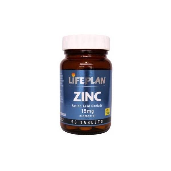 ZINCO MINERAL QUELADO - 90 CÁPSULAS de 15 mg