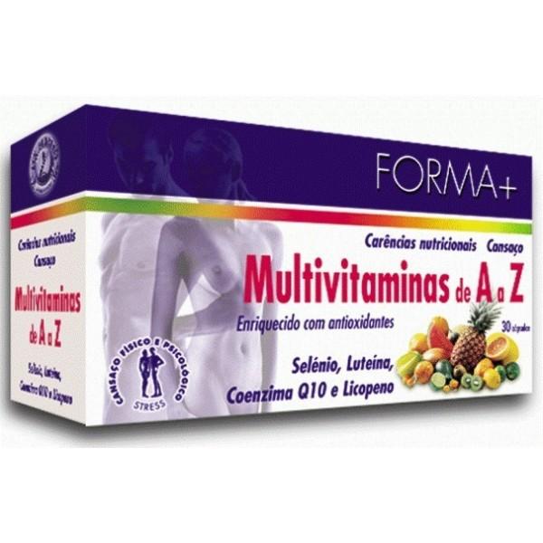 Multivitaminas de A a Z - Forma + 30 cápsulas
