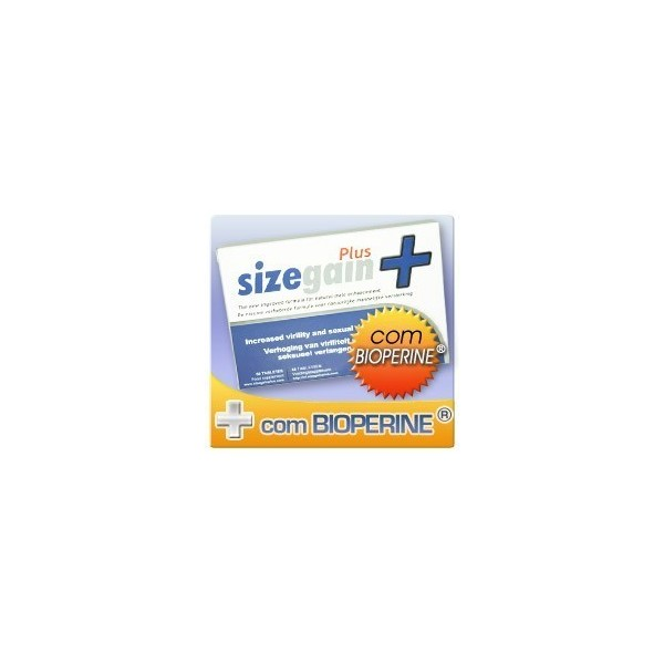 SizeGain Plus - Onde comprar no Brasil, Angola, Mocambique e Portugal - 30 comprimidos