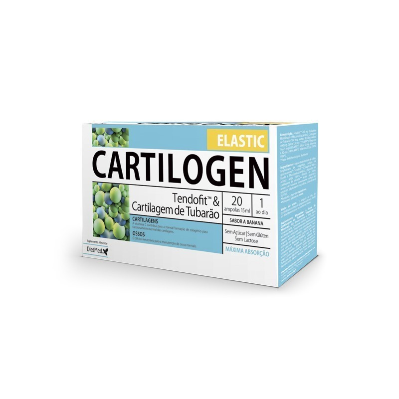 CARTILOGEN ELASTIC | 20 X 15ML AMPOLAS