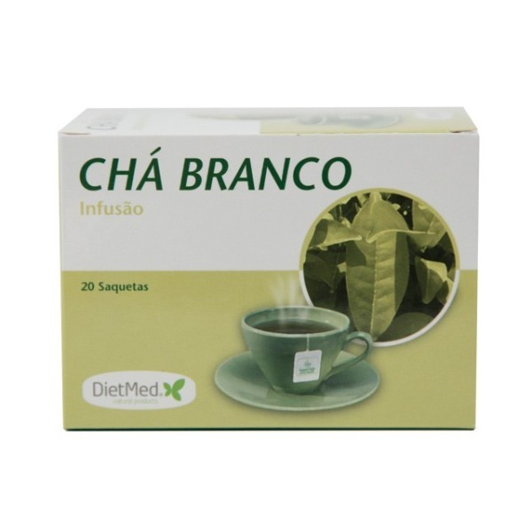 CHA BRANCO | 20 SAQUETAS