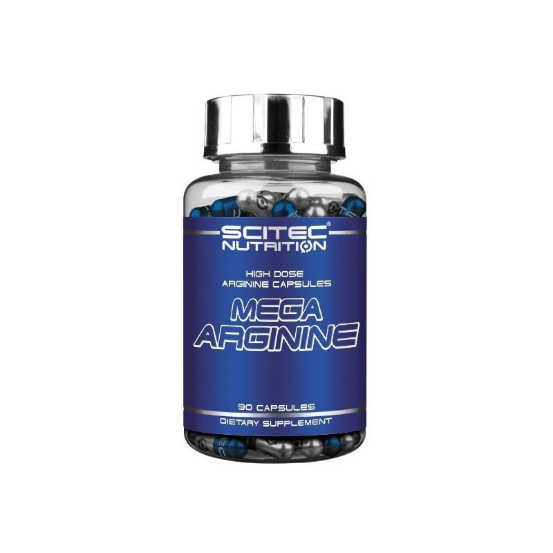"""L-Arginina - Mega Arginine Scitec - O """"Viagra"""" Natural Muito Mais Barato e Seguro! 90 Cápsulas"""