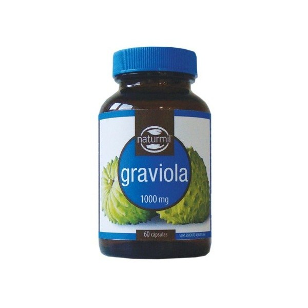 Graviola - Anti-Câncer/Cancro - 60 cápsulas de 1000mg
