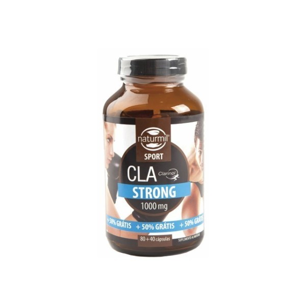 CLA STRONG 1000MG | (80+40) CAPSULAS