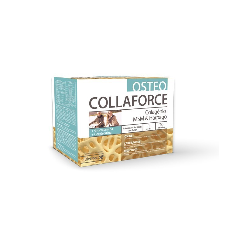 COLLAFORCE OSTEO 20 x 10g carteiras