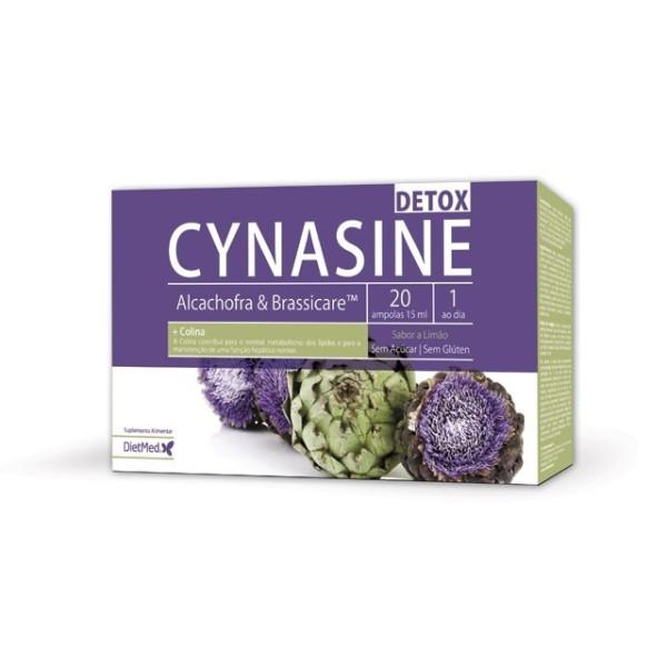 CYNASINE DETOX | 20 X 15ML AMPOLAS
