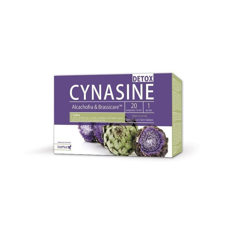 CYNASINE DETOX   20 X 15ML AMPOLAS