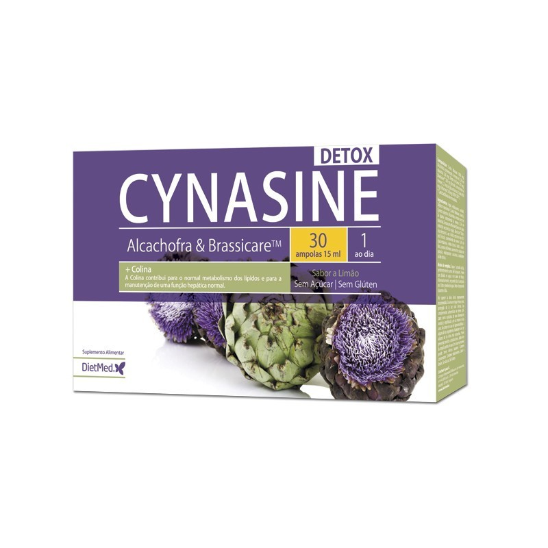 CYNASINE DETOX | 30 X 15ML AMPOLAS