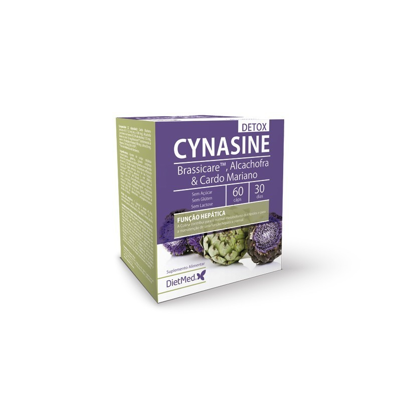 CYNASINE DETOX | 60 CAPSULAS