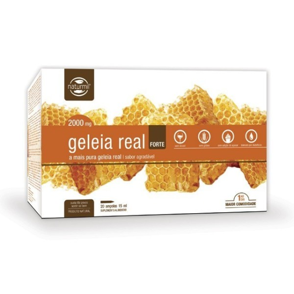 GELEIA REAL FORTE | 20 X 15ML AMPOLAS