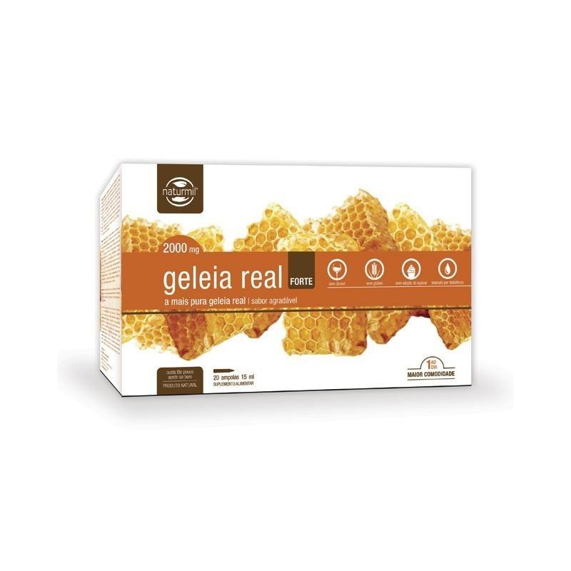GELEIA REAL FORTE | 20 X 15ML AMPOLAS