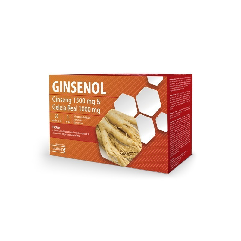 GINSENOL | 20 X 15ML AMPOLAS