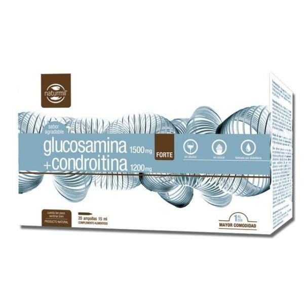 GLUCOSAMINA + CONDROITINA | 20 X 15ML AMPOLAS