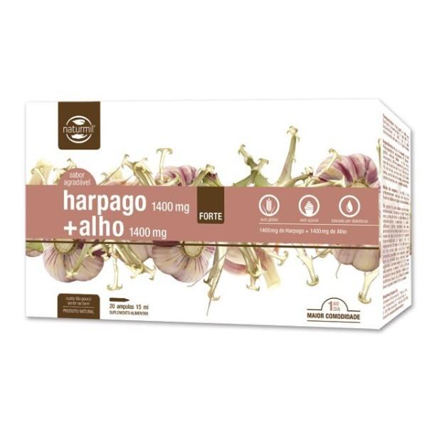 HARPAGO + ALHO FORTE | 20 X 15ML AMPOLAS