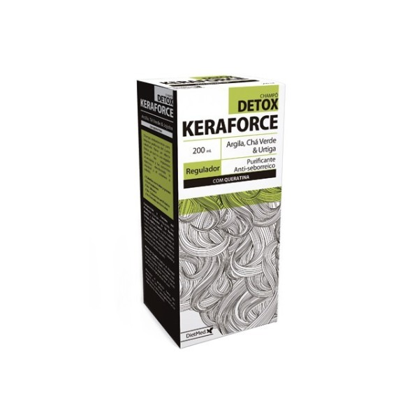 KERAFORCE DETOX | COM KERATINA 200ML CHAMPO