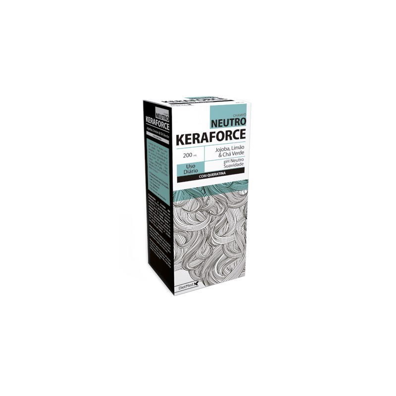 KERAFORCE NEUTRO | COM KERATINA 200ML CHAMPO