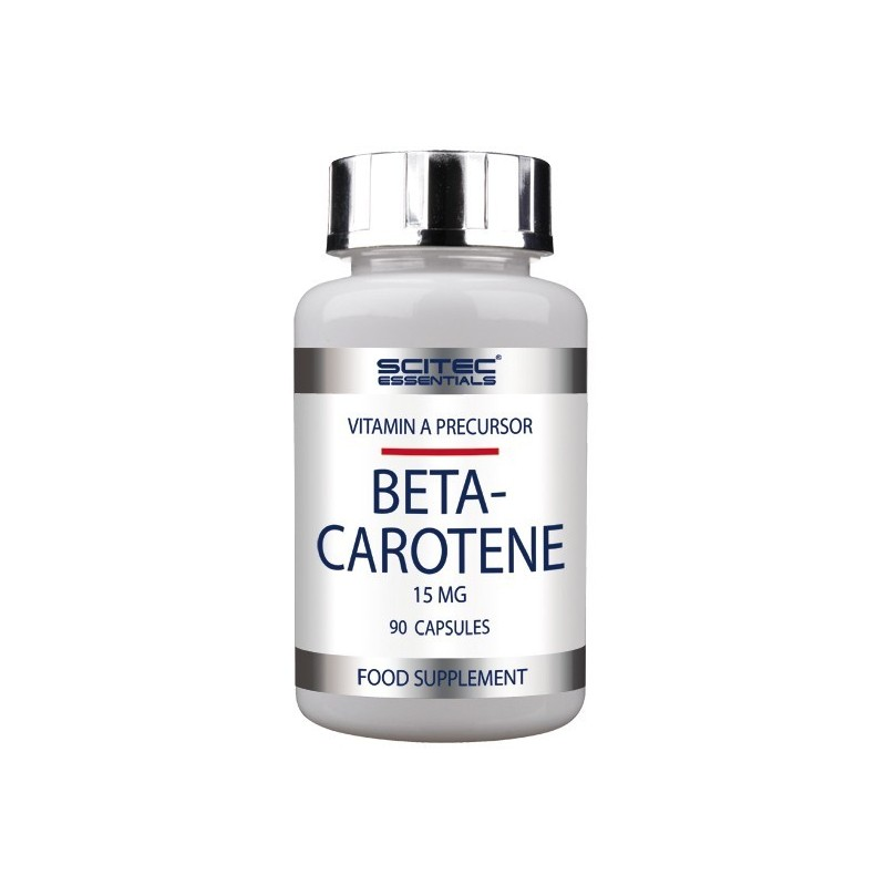 BETACAROTENO Scitec - Beta Carotene - Percursor da Vitamina A