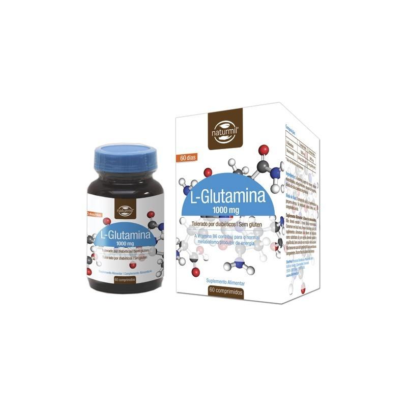 L-GLUTAMINA 1000MG | 60 COMPRIMIDOS
