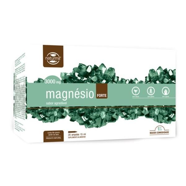 MAGNESIO FORTE 3000MG | 20 X 15ML AMPOLAS