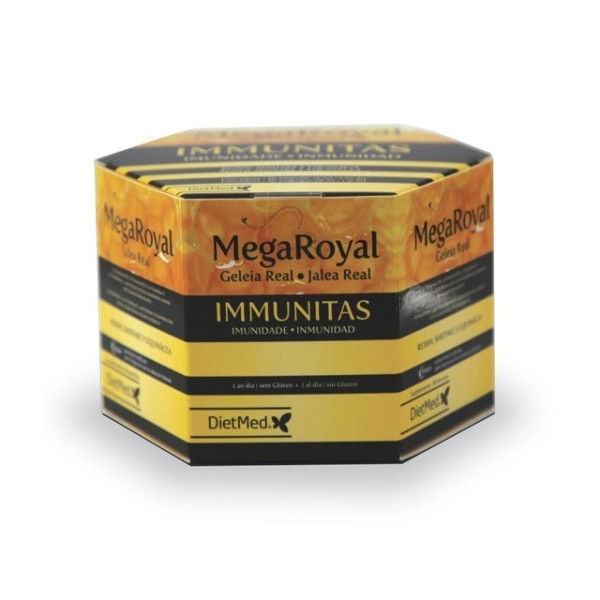 MEGA ROYAL IMMUNITAS | 20 X 15ML AMPOLAS