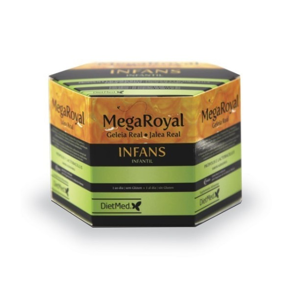 MEGA ROYAL INFANS | 20 X 15ML AMPOLAS